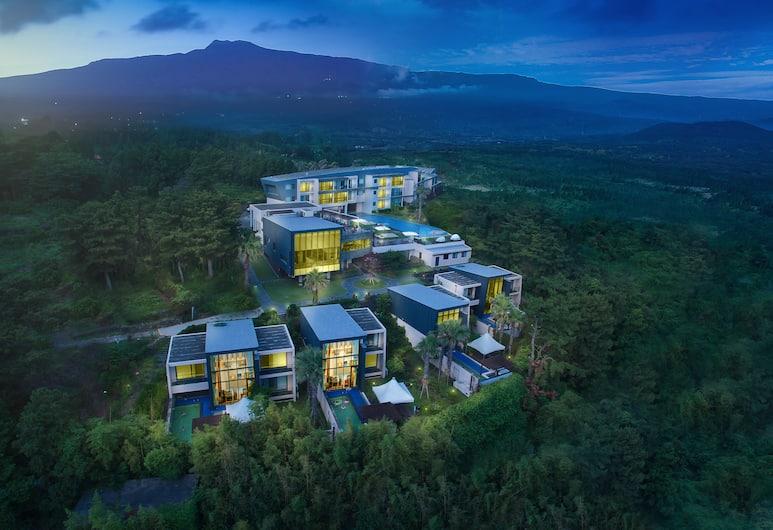 丹姆和盧飯店, 西歸浦, 鳥瞰
