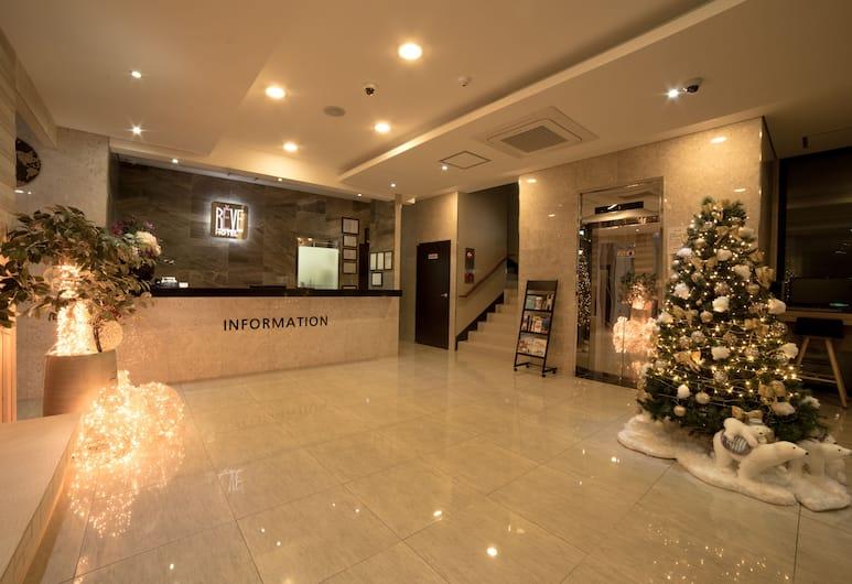 Reve Boutique Hotel, Jeju City, Fuajee