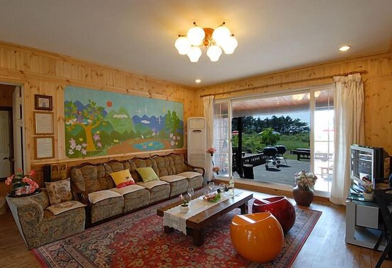 美麗鳥度假村, Jeju City, 客廳