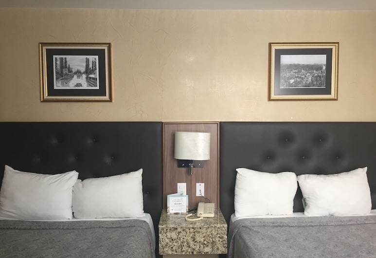 Hotel Castropol, Mexico City, Standard Room, Guest Room