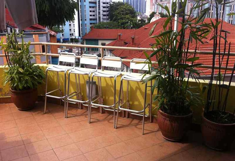 G4 Station Backpackers' Hostel, Singapore, Terrace/Patio