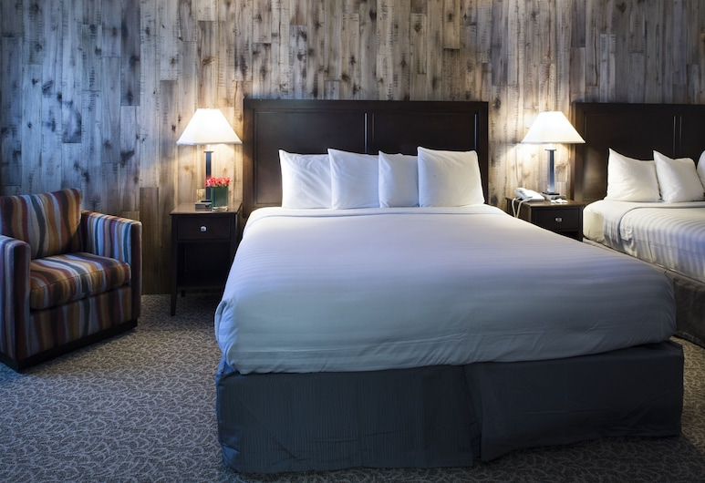 Mission Inn, Santa Cruz, Quarto Deluxe, 2 camas queen-size, Quarto
