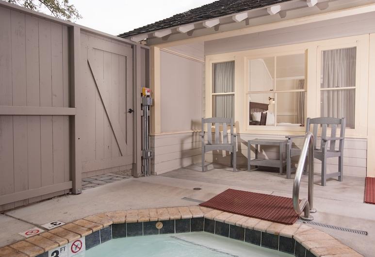 猛瑪溫泉小屋飯店 - 位於國家公園內, 黃石國家公園, 客房, 露台
