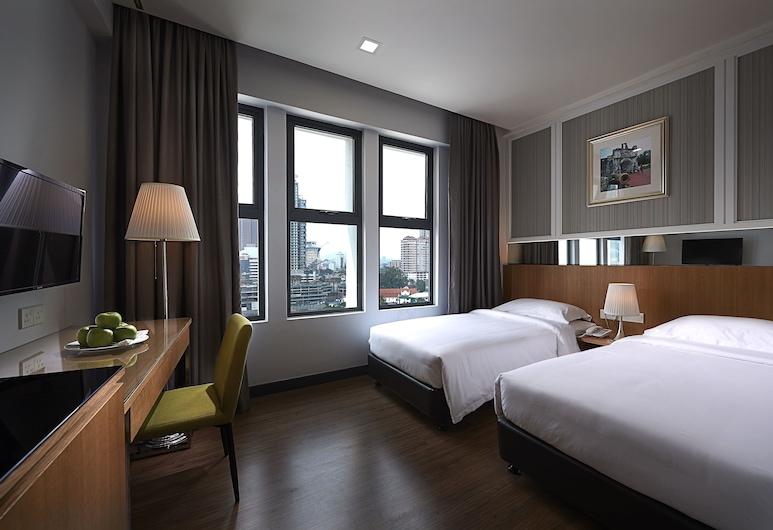 ホテル トランジット クアラルンプール, クアラルンプール, スタンダード ツインルーム シングルベッド 2 台, 部屋