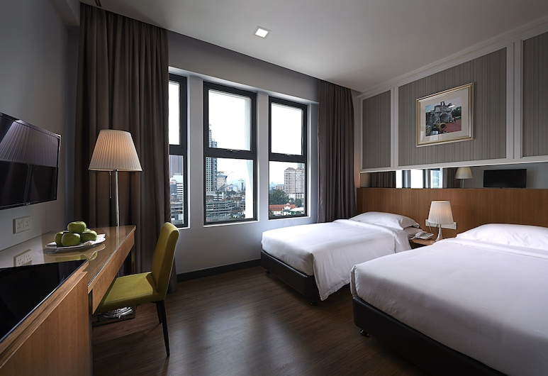 Hotel Transit Kuala Lumpur, Kuala Lumpur, Standard Twin Room, 2 Single Beds, Guest Room