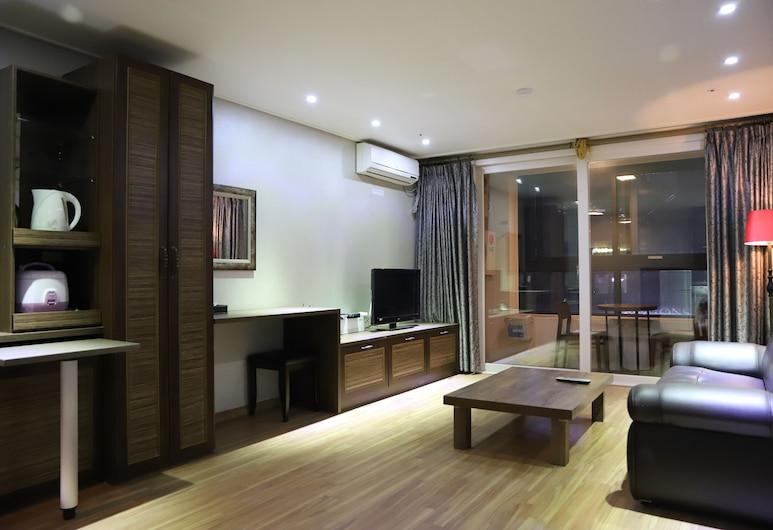 La Mia Residence Hotel, Daejeon, Suite Double, Kamar Tamu