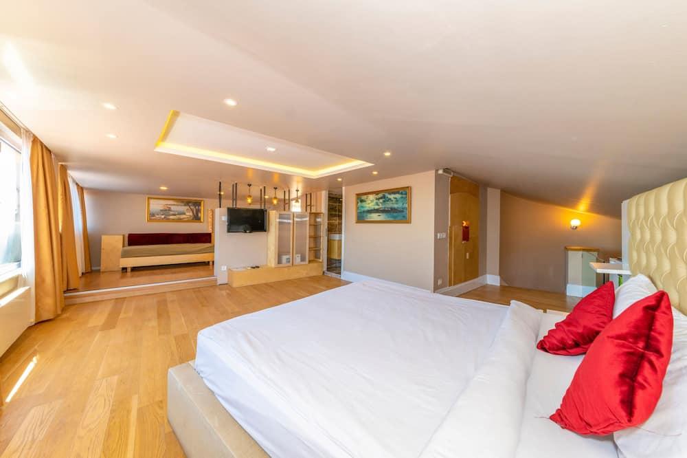 Kaksikerroksinen huoneisto, Terassi, Merinäköala - Vierashuone