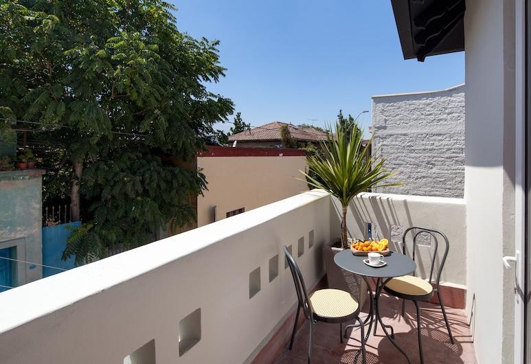 CasaSur Charming Hotel, Santiago, Deluxe dubbelrum, Terrass