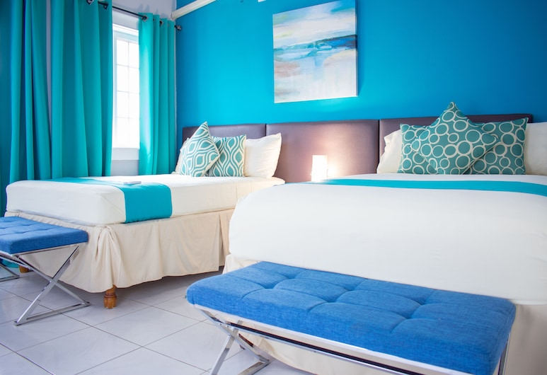 Casa Tianna Guest Apartments, Kingston, Apartmán typu Superior, 2 ložnice, 2 koupelny, výhled na město, Pokoj