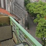 Habitación junior con 1 cama doble o 2 individuales, balcón - Balcón