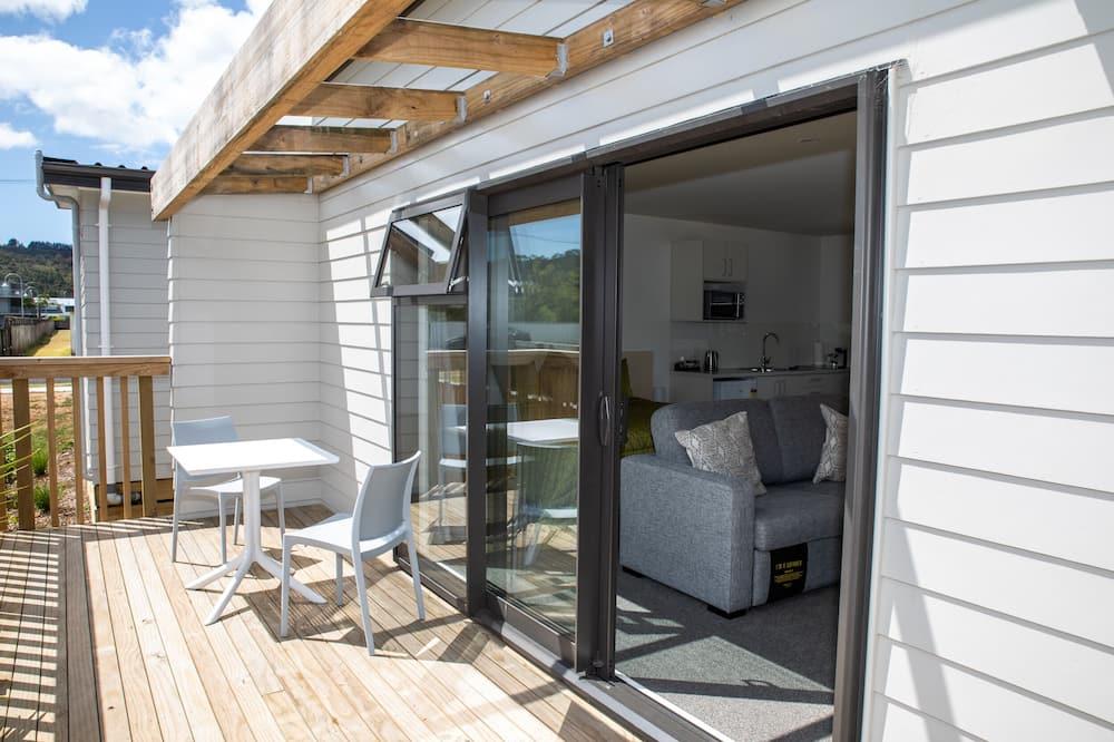 Deluxe-studiolejlighed - ikke-ryger - tekøkken (Superior) - Terrasse/patio