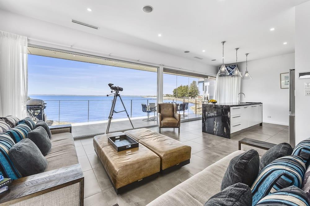Luxury-Haus, 4Schlafzimmer, Meerblick, Strandnähe - Wohnbereich
