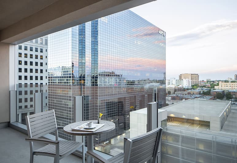 the ART, a hotel, Denver, Room, 2 Double Beds (Canvas), Balcony