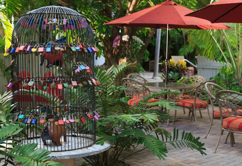 Tropical Inn, Key West, Garden