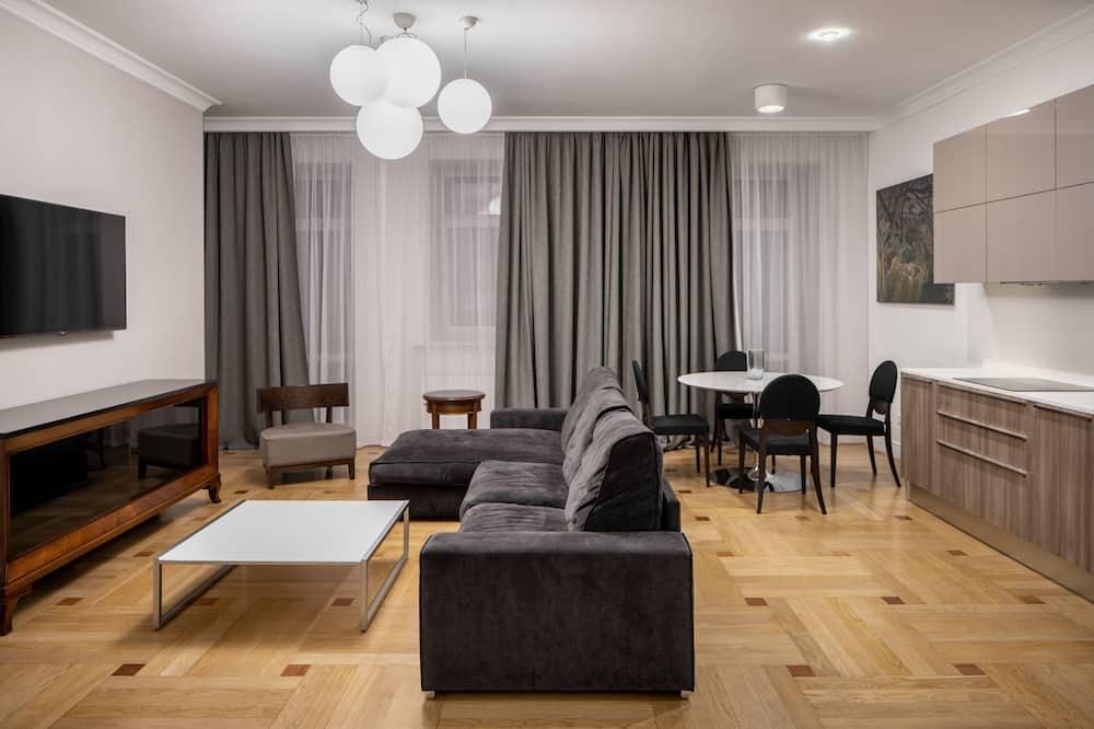 Studio Apartment - Living Room