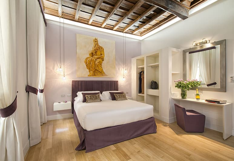 Domus Libera , Rome, Superior Double Room, 1 Double Bed, Guest Room