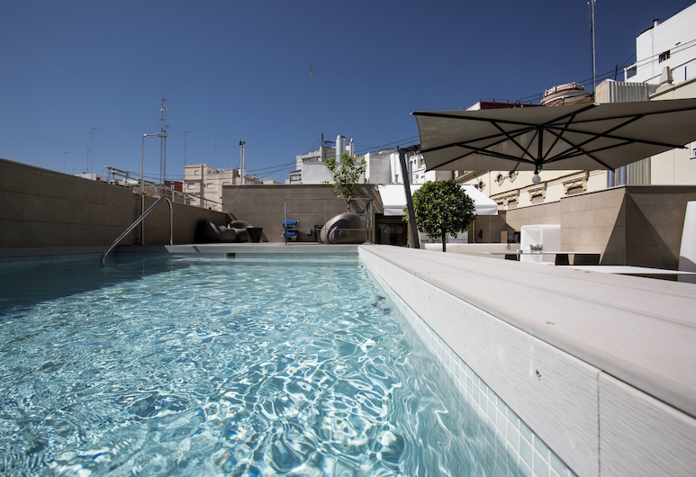 Vincci Mercat Hotel, Valencia, Basen