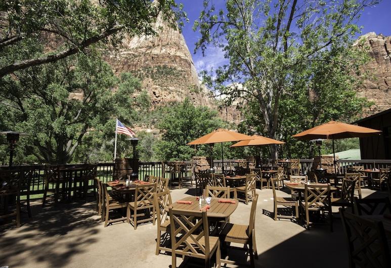 Zion Lodge - Inside The Park, ספרינגדייל, ארוחה בחוץ