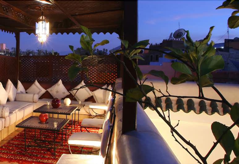 Riad La Croix Berbère, Marrakesh, Terrazza/Patio