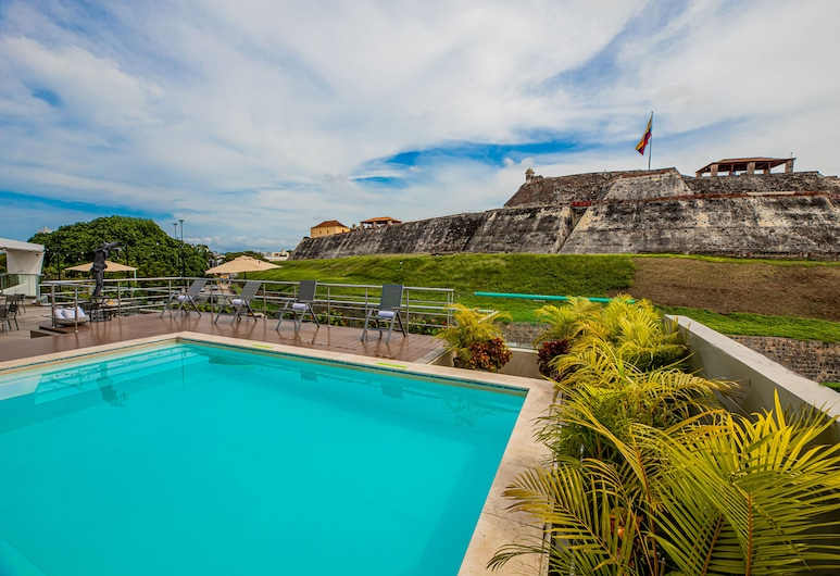 San Lazaro Art Hotel, Cartagena, נוף לאזור מהנכס