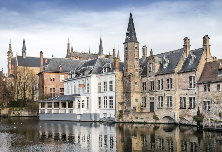 Apartment Dijver, Brugge, Utsikt fra overnattingsstedet
