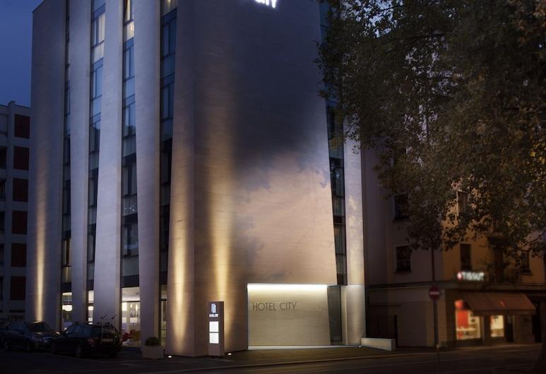 Hotel City Lugano, Design & Hospitality, Lugano, Hotelfassade