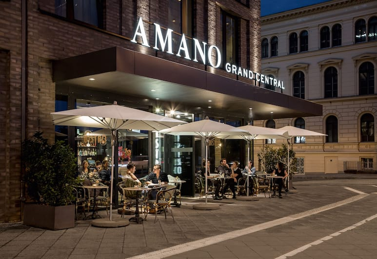 Hotel AMANO Grand Central, Berlin, Étterem