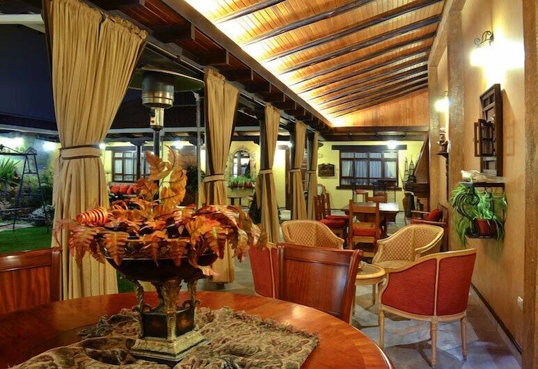 San Juan Hotel, Cuenca, Terraza o patio