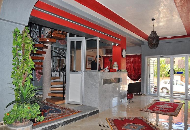 Hotel Abda, Safí, Recepción