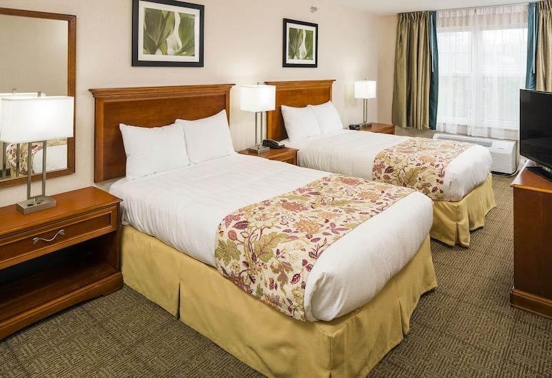斯瑪特套房飯店, 南伯林頓, One Bedroom Suite with 2 Double Beds, 客房