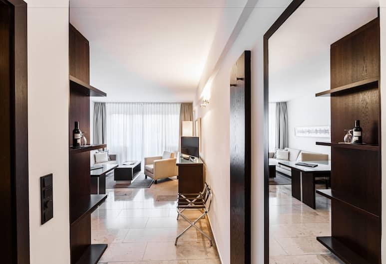 BURNS Art Apartments, Düsseldorf, Business-Suite (Check In @ Burns Art Hotel), Zimmer