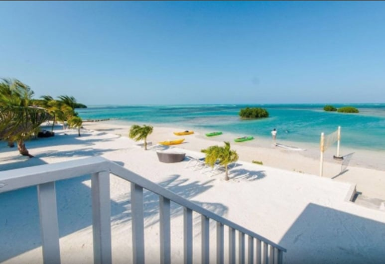 Royal Palm Island Resort, Little Frenchman Caye, Deluxe puhkemaja, 2 magamistoaga, vaade kuurordialale, Vaade toast