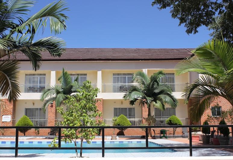 Chamba Valley Exotic Hotel, Lusaka, Vonkajší bazén