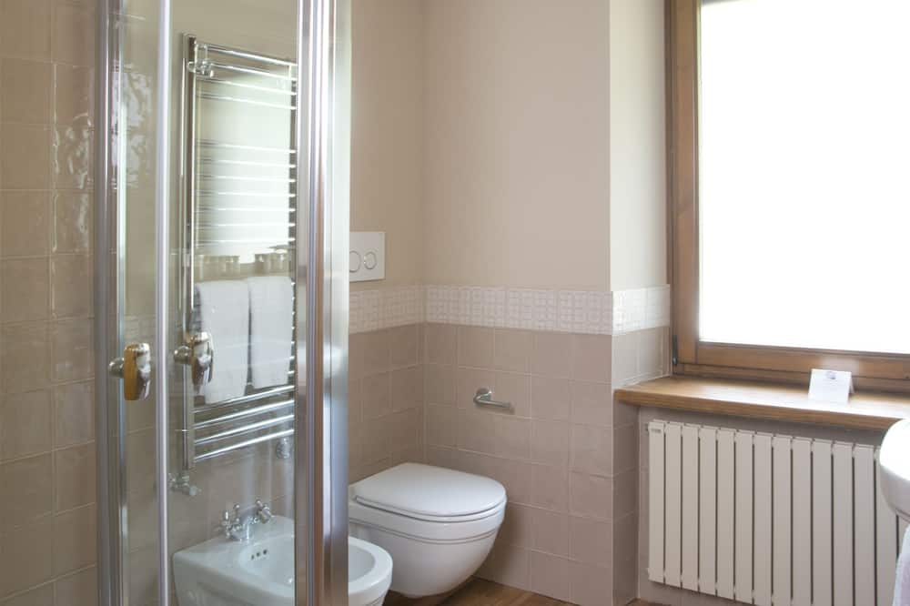 Habitación doble panorámica, 1 habitación, vista al valle - Baño