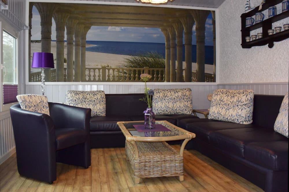 디럭스 아파트, 침실 2개 - 거실