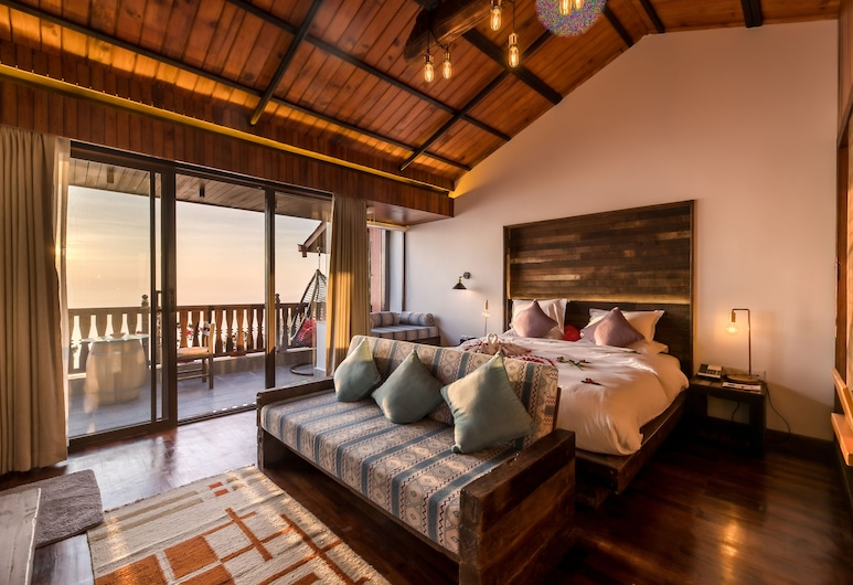 Hotel Country Villa, Nagarkot, Deluxe suite, Kamer