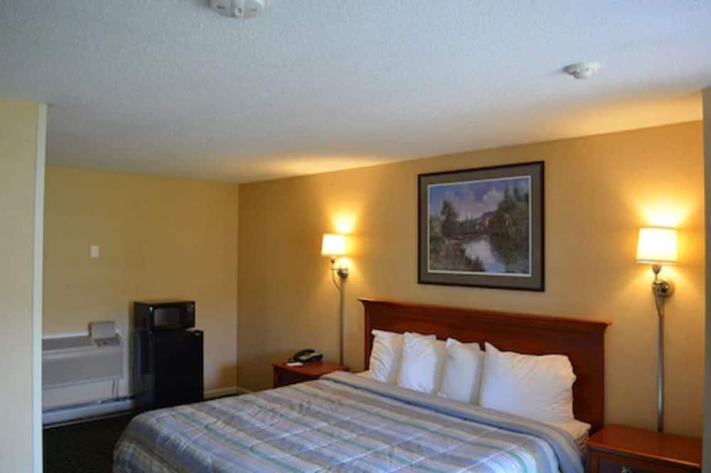 客房, 1 張特大雙人床 - 微波爐