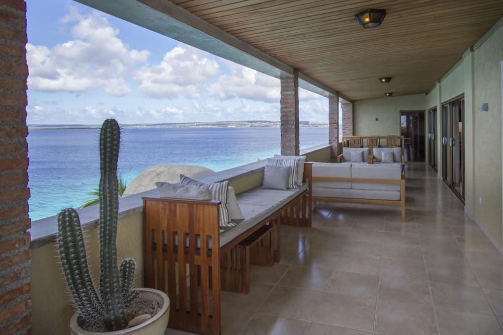 Ático, 2 habitaciones, vistas al mar - Balcón