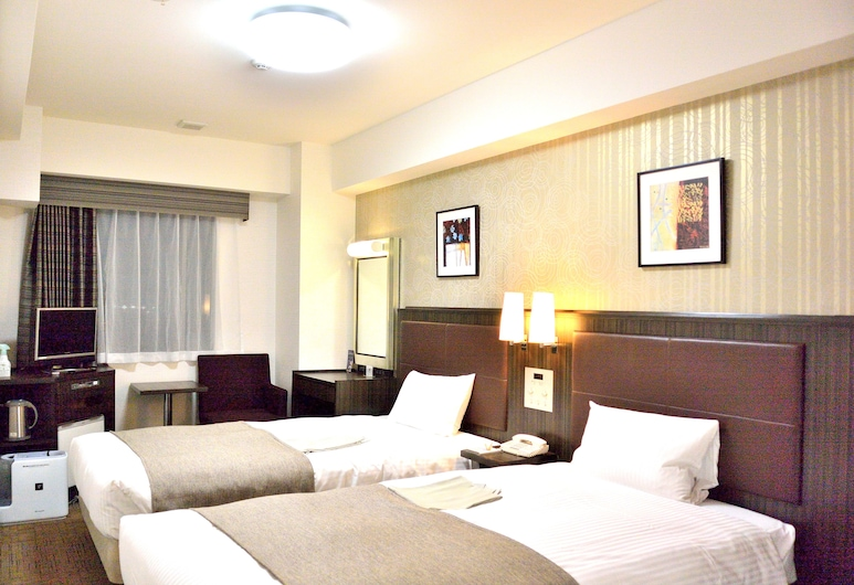 HOTEL HOKKE CLUB NIIGATA-NAGAOKA, Nagaoka, Dvivietis kambarys (2 viengulės lovos), Nerūkantiesiems, Svečių kambarys