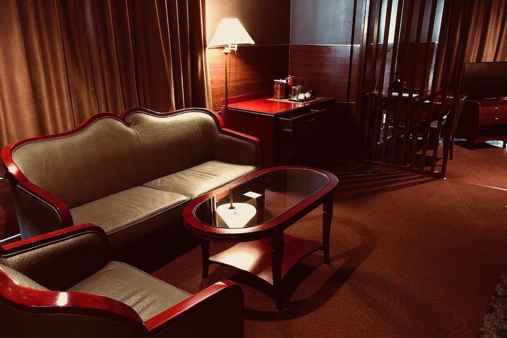 Suite, 2 camas dobles, para fumadores - Habitación