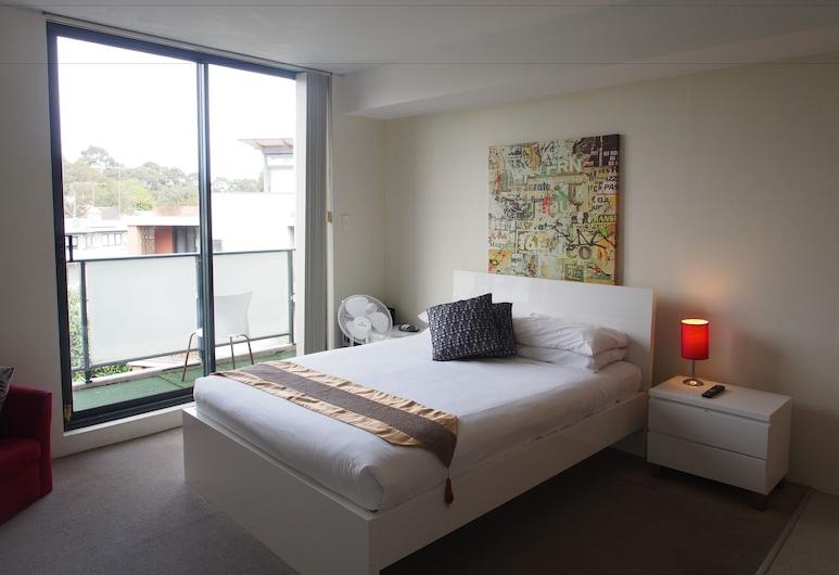 Atelier Serviced Apartments, Newtown, Estudio estándar, Habitación