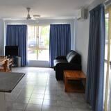 Familien-Suite, 1 Schlafzimmer, Kochnische - Wohnbereich