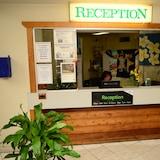 Kiosk na registráciu/odhlásenie