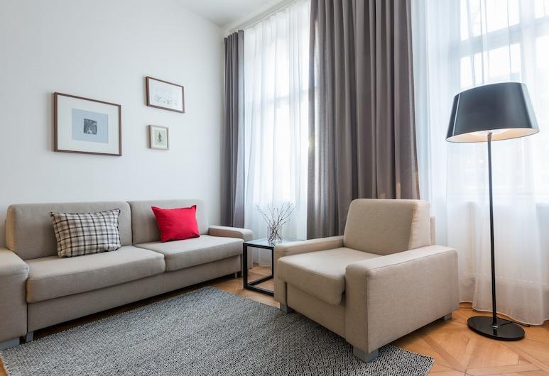 Vladislav City Centre Apartments, Prague, Apartment, 1 Bedroom, Living Room
