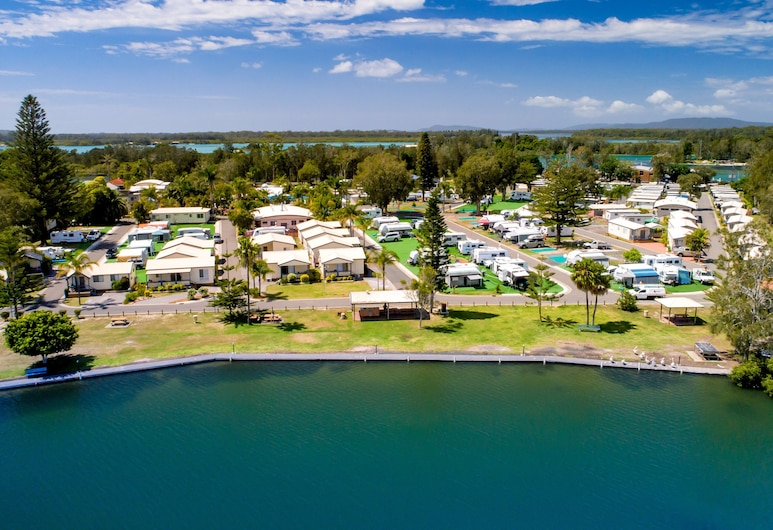BIG4 Forster Tuncurry Great Lakes Holiday Park, Tuncurry, Lago