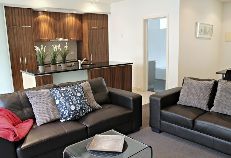 Adelaide DressCircle Apartments - Specialty Accommodation, North Adelaide, Cottage, 2 chambres, Coin séjour
