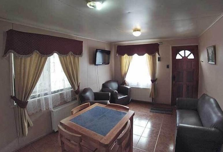 Cabañas Ultima Esperanza, Natales, Bungalow, 2 habitaciones, Sala de estar