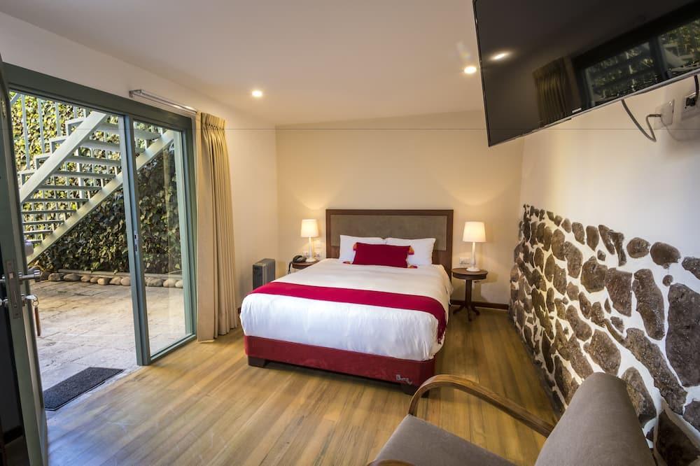 Superior szoba, 1 queen (nagyméretű) franciaágy, kandalló - Vendégszoba