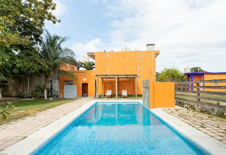 白卡蘭莊園酒店, 巴卡拉爾, 室外泳池