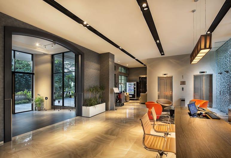 橙樹林服務式公寓飯店 - ST 住宅飯店, 新加坡, 大廳